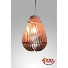 Đèn gỗ hình bầu