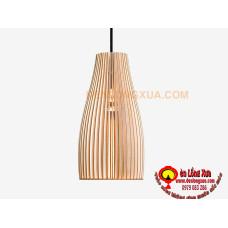 Đèn gỗ hình trụ