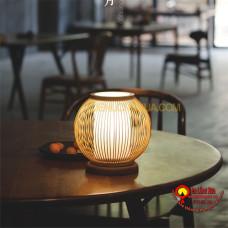 đèn tre để bàn kiểu cầu