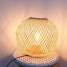 đèn bọng tre để bàn