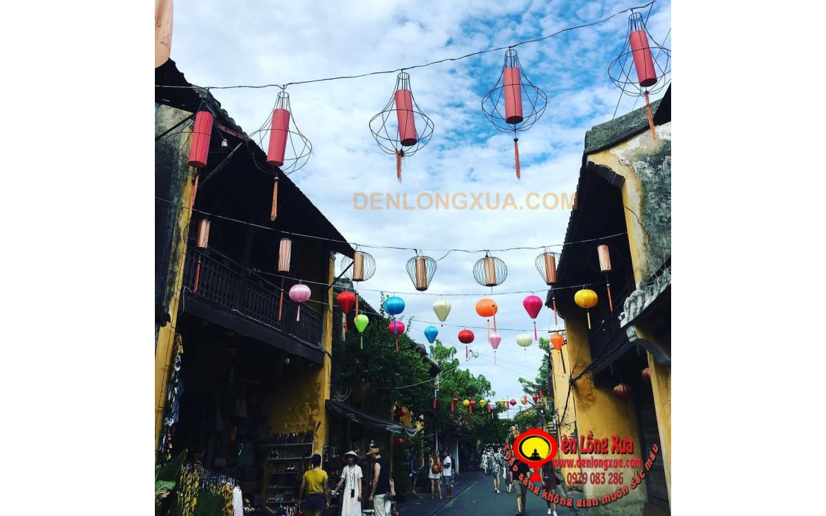 Đèn lồng trang trí đường phố tại các điểm du lịch